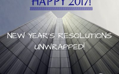 """""""New Year's Resolutions Unwrapped""""!"""